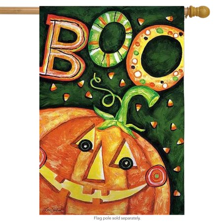 Boo Jack O'Lantern Halloween House - Halloween Jack O'lantern Coloring Pages