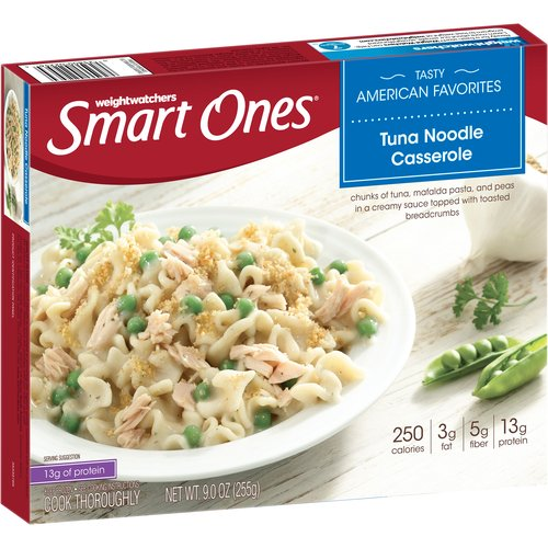 Weight Watchers Smart Ones Tuna Noodle Casserole, 9 oz