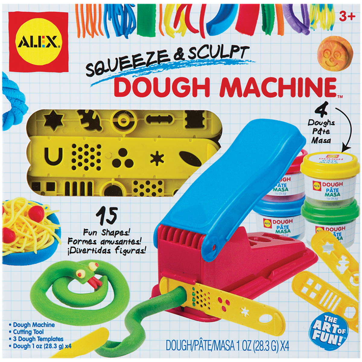 Squeeze & Sculpt Dough Machine Set