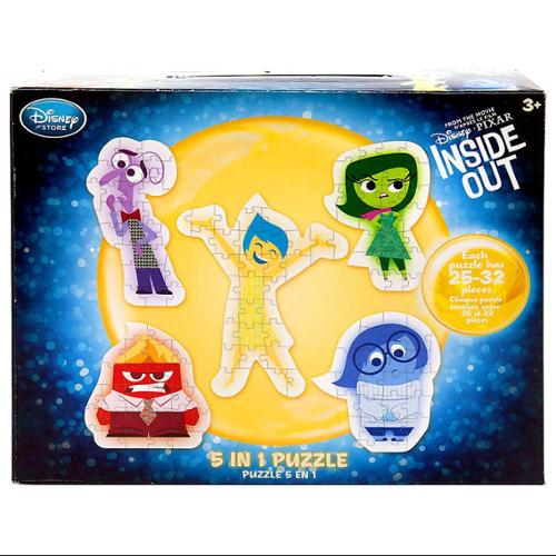 Disney Inside Out Inside Out 5 In 1 Exclusive Puzzle