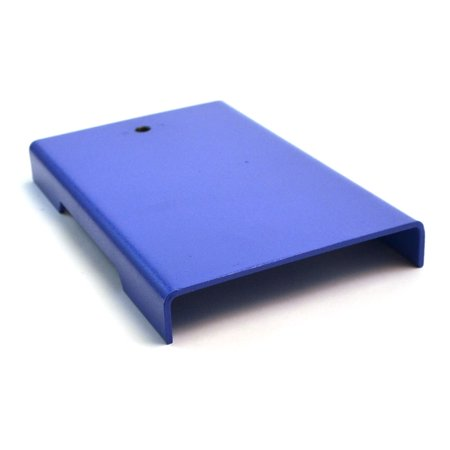 "8""(20cm) X 5""(13cm) Medium Economy Retort Base, Stamped Steel, Powder Coated, Tapped Hole Receives 10 X 1.5mm Threaded Rod"