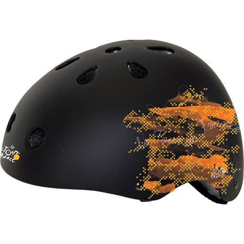 Tour de France Matte Tour Freestyle Bike Helmet, Large (58-61cm)