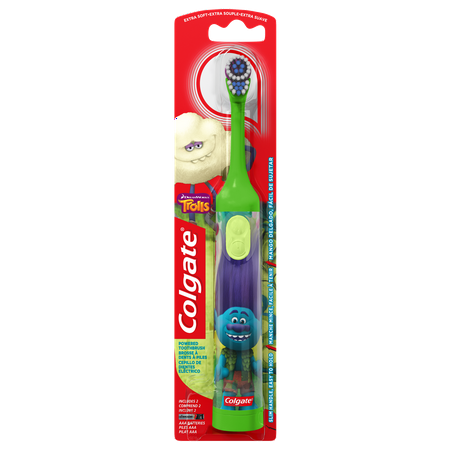Kids Battery Toothbrush - Colgate Kids Battery Powered Toothbrush - Trolls (Colors Vary)