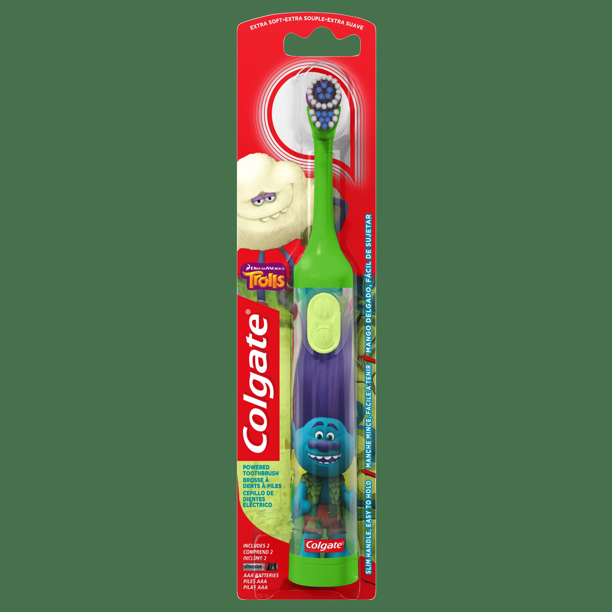 Colgate Kids Battery Powered Toothbrush - Trolls (Colors Vary)