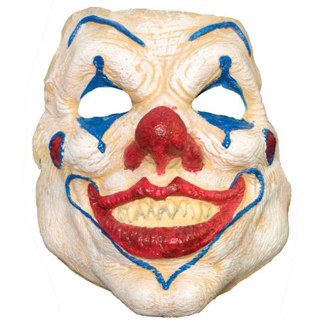 Evil Clown Prepainted Foam Latex Prosthetic Adult Halloween Accessory (Foam Latex Halloween Costumes)