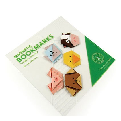Magnetic Origami Bookmarks - Animals ()