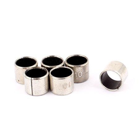 6 Pcs Self-lubricating Composite Bearing Bushing Sleeve 10mm x 12mm x - Bushing Sleeve