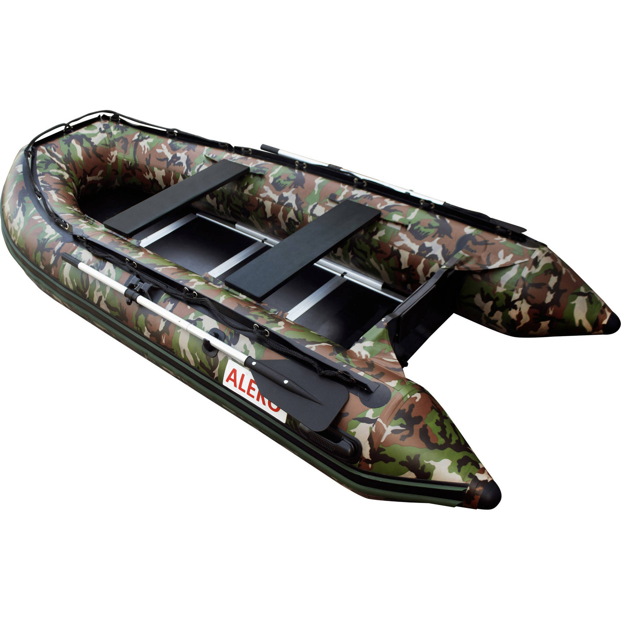 Click here to buy ALEKO Inflatable Boat Wood Floor 10.5 Feet Camouflage Style by ALEKO.