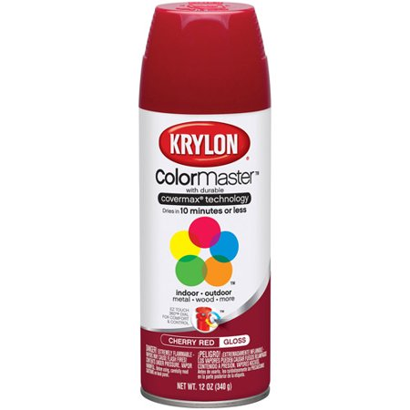 Krylon Colormaster Cherry Red (Red Mirror Tint)