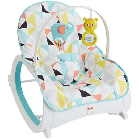 Fisher-Price Infant-To-Toddler Rocker with Removable Toy