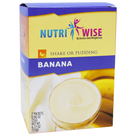 Banana Diet Protein Shake Or Pudding 7 Box Nutriwise