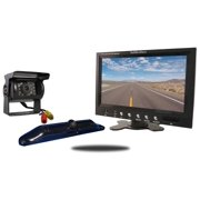 Tadibrothers 5th Wheel Backup Camera System with a 7 Inch Monitor and 2 Backup Cameras