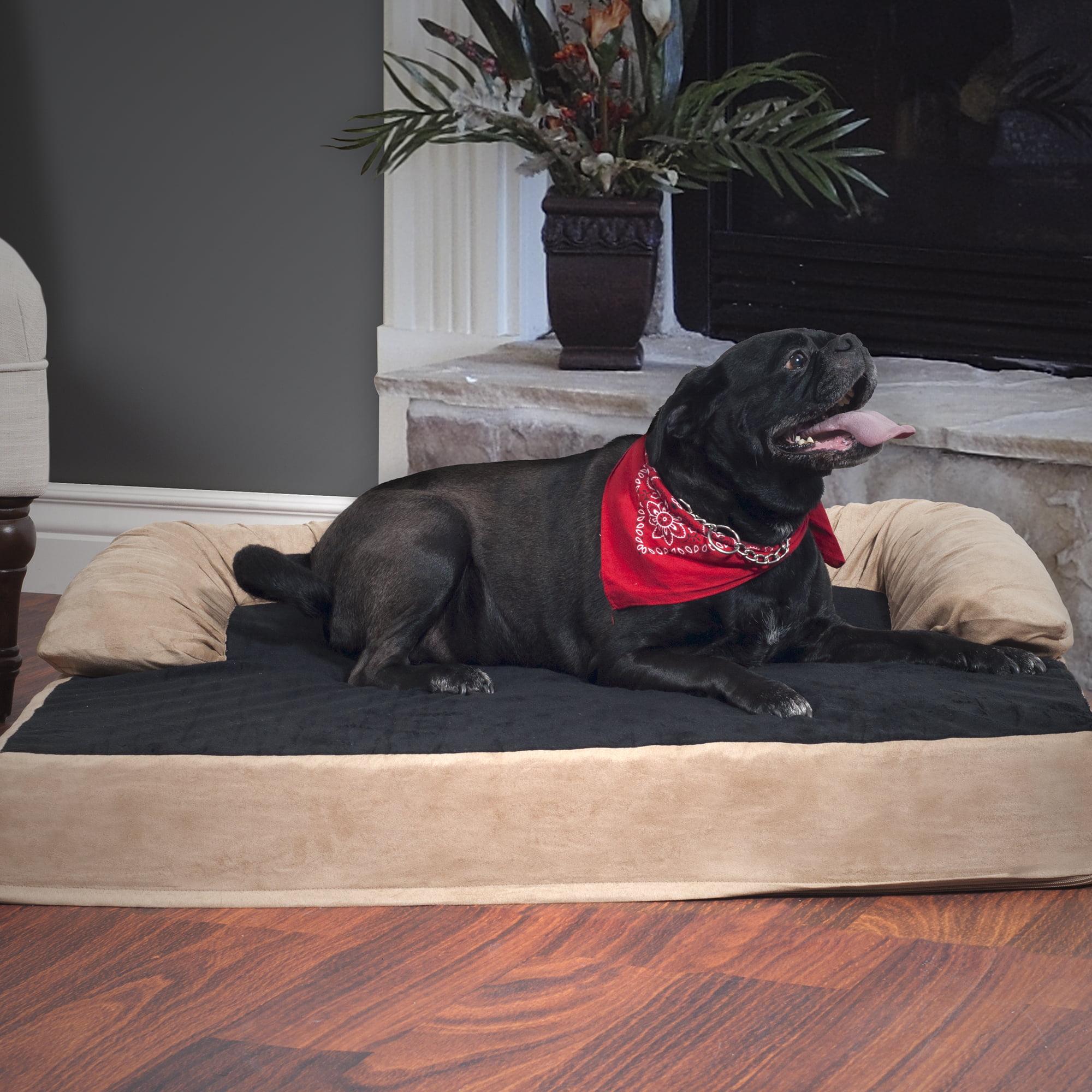 Dog Bed, Orthopedic Memory Foam Pet Bed - XL