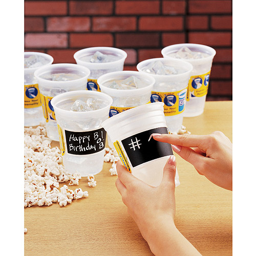 Etch-It Frosted 18-Ounce Party Cups, Pack of 24