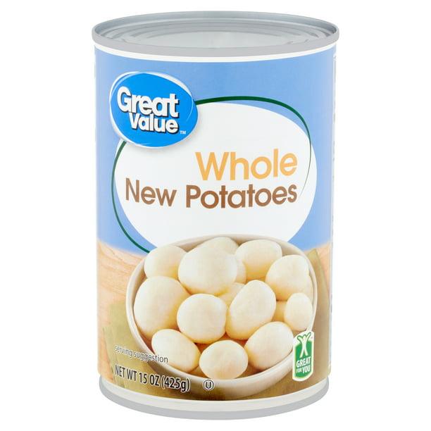 Great Value Whole New Potatoes 15 Oz Walmart Com Walmart Com
