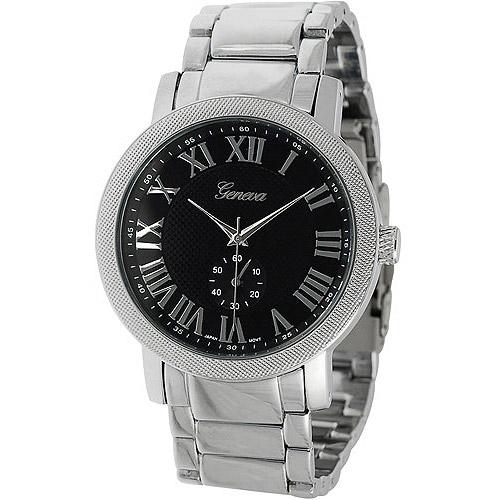 Aktion Men's Chronograph Style Roman Numeral Link Watch