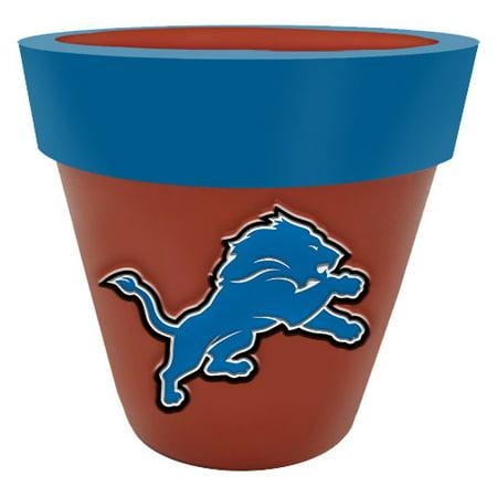 Detroit Lions Team Planter Flower Pot - No
