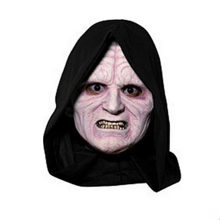 Star Wars Emperor Palpatine 3/4 Vinyl Mask Halloween Costume Accessory