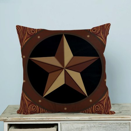 - GCKG Texas Star Pillow Case Pillow Cover Pillow Protector Two Sides 18 x 18 Inches