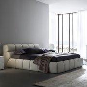 Rossetto Cloud Platform Bed - Beige