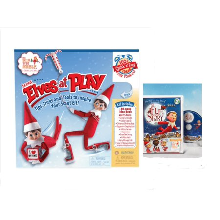 Elf on the Shelf bundle with SCOUT ELVES AT PLAY and AN ELF'S STORY DVD (Scout Elf)