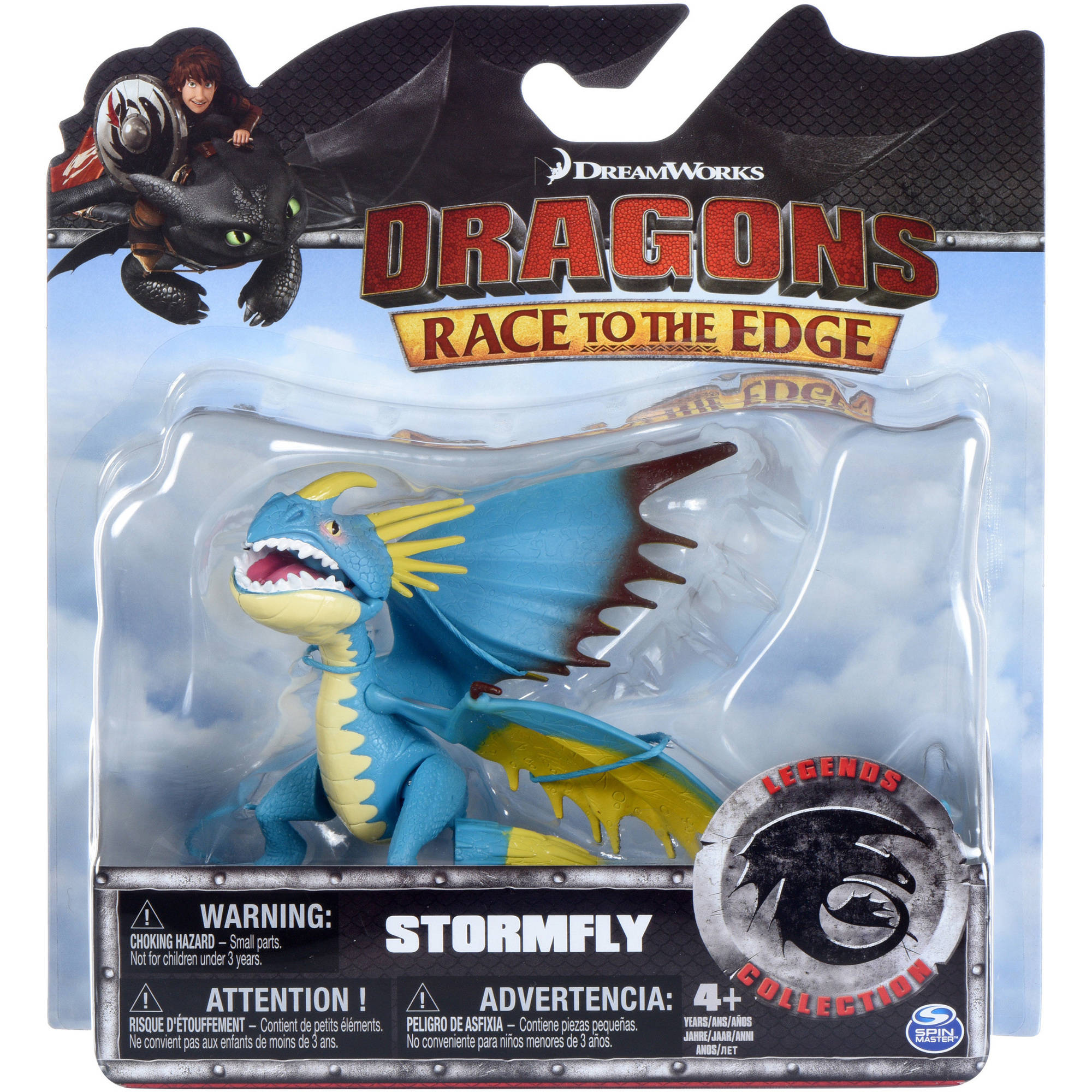 Dreamworks Dragons Race To The Edge Legends Collection Deadly Nadder   Walmart