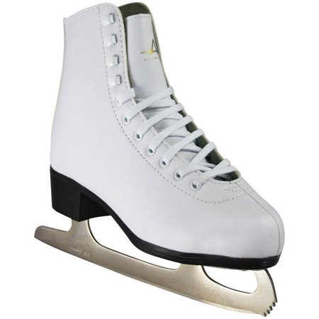 American Athletic Women's Tricot-Lined Ice (Leather Womens Ice Skates)