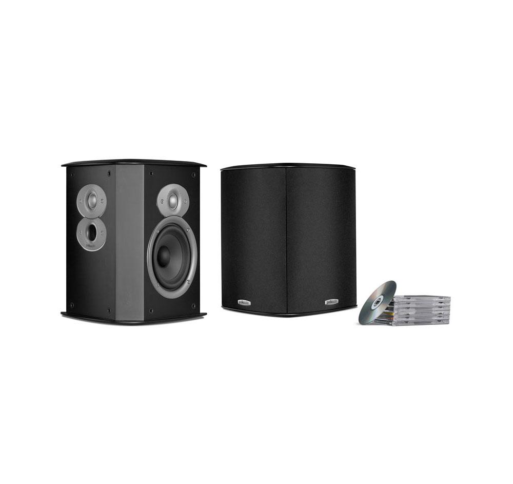 Polk Audio FXi A4 Black (Pair) Open Box Bi-Pole, Di-Pole Surround Speakers by Polk Audio