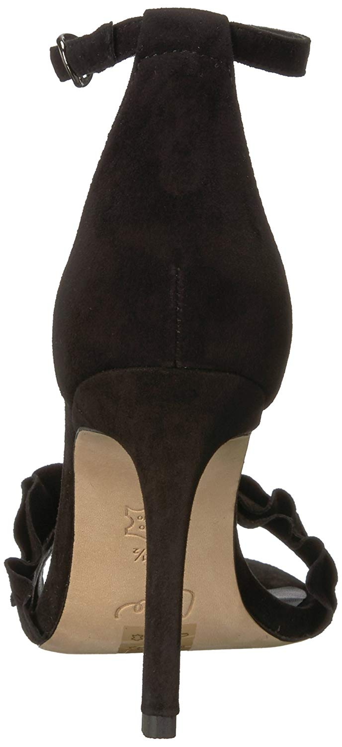 Joie Womens Abigail Suede Strap Open Toe Special Occasion Ankle Strap Suede Sandals 983101