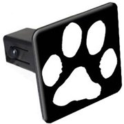 """Paw Print 1.25"""" Tow Trailer Hitch Cover Plug Insert"""