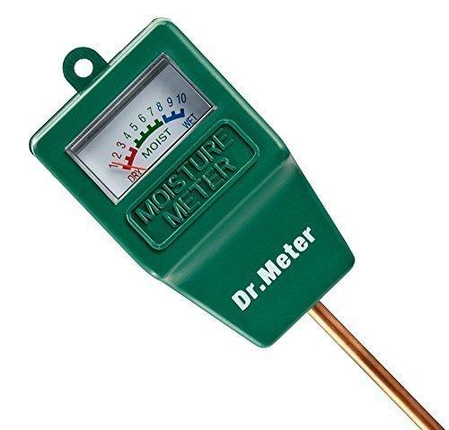 Dr.Meter Moisture Sensor Meter, Soil Water Monitor, Hydrometer for Plants Soil