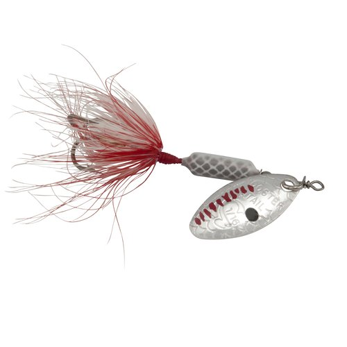 Worden 1/16 oz Rooster Tail Lure, Grey Ghost