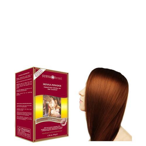 Henna Ash Brown Powder Surya Nature, Inc 1.76 oz Powder