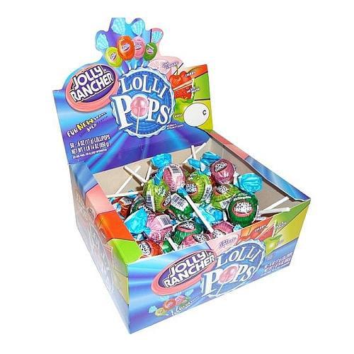 Jolly Rancher Lollipops: 50 Count