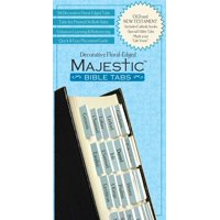 Majestic Floral-Edged Bible Tabs (Other)