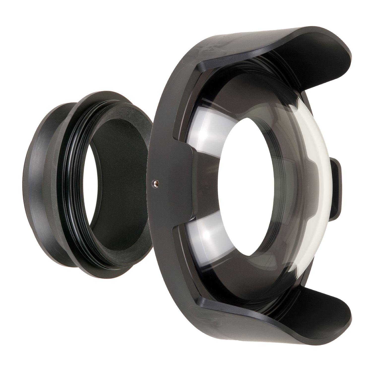 Ikelite FL 8 inch Dome Kit for Lenses Up To 3.5 Inches by Ikelite