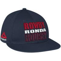 Ronda Rousey UFC Reebok Rowdy Snapback Adjustable Hat - Navy - OSFA