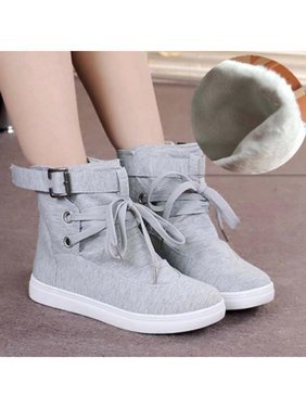 29f8db689fe904 Product Image Meigar Women Sneakers Casual Hiking High Top Sports Shoes