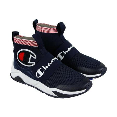 9306347d3 Champion - Champion Rally Pro Mens Blue Textile Athletic Slip On Training  Shoes - Walmart.com