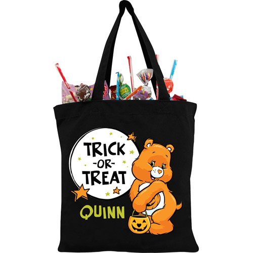 Personalized Care Bears Trick-or-Sweet Bear Treat Bag