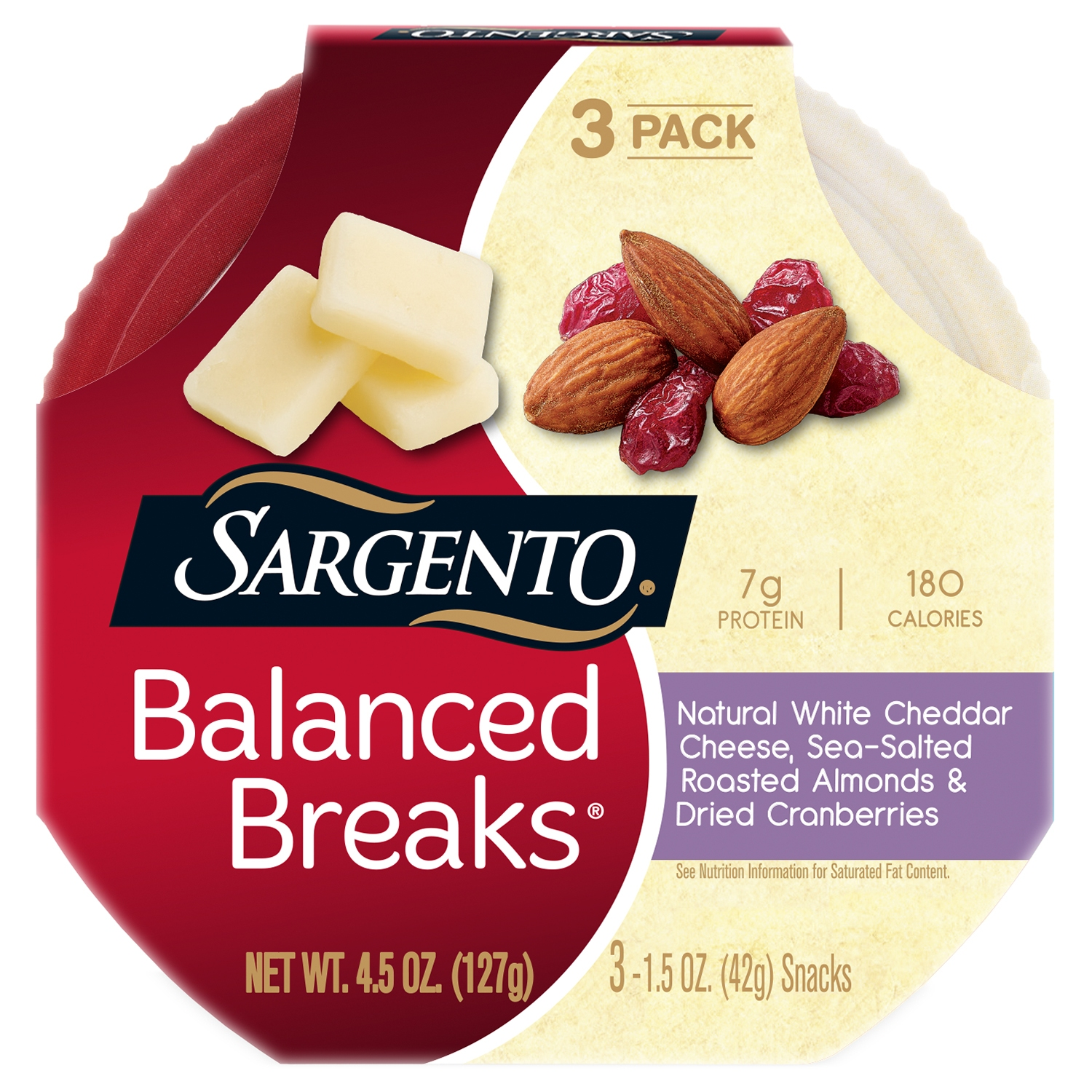 sargento cheese and nuts