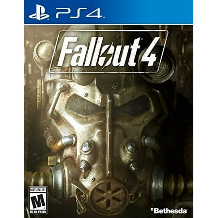 Fallout 4, Bethesda, PlayStation 4, 093155170414