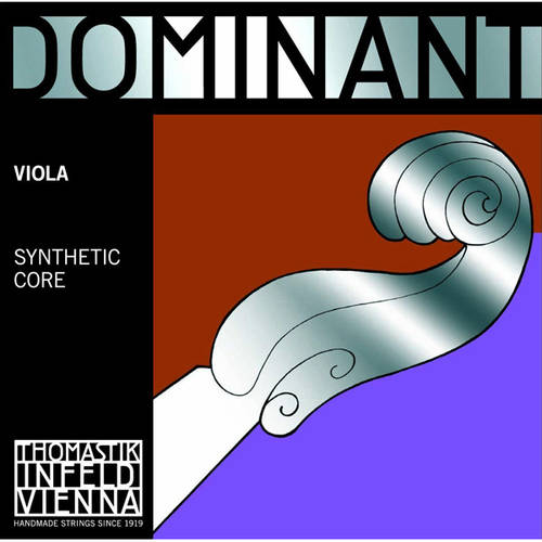 Thomastik-Infeld Dominant Nylon-Core Viola Strings, Medium Gauge, 4 4, Set of 4 by Thomastik-Infeld