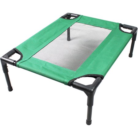 Iconic Pet The Lazy Pet Cot, Dark Green, Small