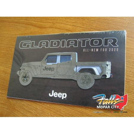 Jeep Gladiator Multi-Tool and Brochure