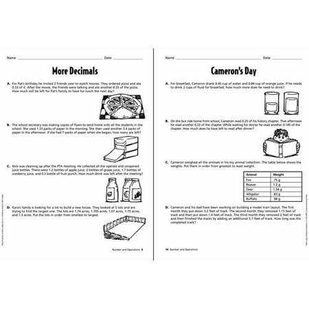 creative teaching press math logic & word problems, multiple grade levels -  walmart com