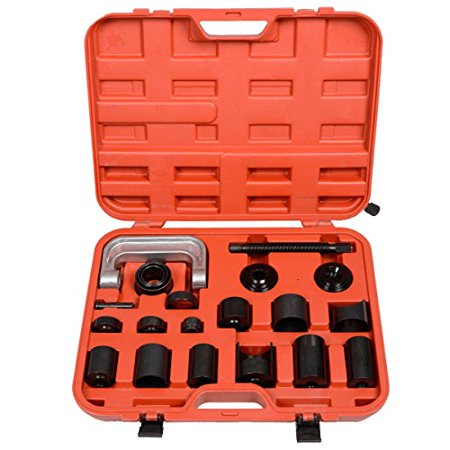 GHP Heavy-duty Deluxe Universal Vehicle Ball Joint Tool Kit w Storage Case
