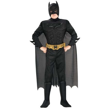 Kids Halloween Childrens Costumes Boys Batman 2008 The Dark Knight Movie Costume Theme Party - Batman Costumes Boys