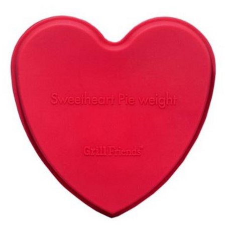 HIC 60548 Sweetheart Pie Weight Silicone, 5.5