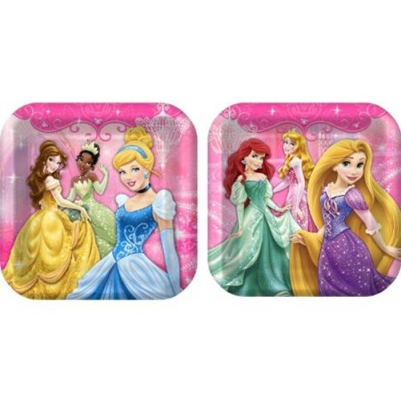 Disney Princess 'Very Important Princess' Large Paper Plates (8ct. 2 - Disney Halloween Party 2017 Hours